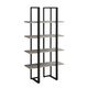 Highrise Bookcase Taupe