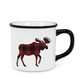 Plaid Moose Mug by Abbott