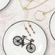 Round Pin Dish with Bike by Abbott