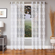 Chantale Embroidered Grommet Panel