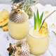 Set of 2 Pineapple Cocktail Glasses by Brilliant