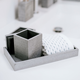 Slate Bath Accessories Collection by Kassatex