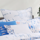 Fun Line Chambray Bedding Collection