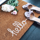 « Hello » Doormat