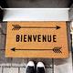 « Bienvenue » Doormat