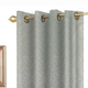 Vegas Jacquard Grommet Panel & Cushion