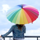 Colourful Umbrella
