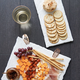 White Slate Serving Platters By Bia