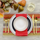 Barcode Fabric Placemat