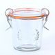 Glass Canister with Clip