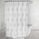Radiant Fabric Shower Curtain