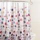 Vera Fabric Shower Curtain