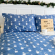 Blue Bears Flannel Sheet Set and Duvet Cover Set