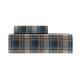 Teal Plaid Flannel Sheet Set
