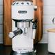 Delonghi Dedica DeLuxe White Espresso and Cappuccino Machine