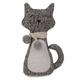 Dark Grey Cat Door Stopper