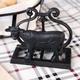 Black Cow Napkin Holder