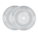 Set of 2 Rumba Charger Plates by Nachtmann