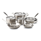 All-Clad D5 5-Ply 10-Piece Cookware Set