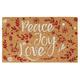 Peace, Joy, Love Doormat