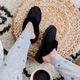 UGG Coquette Black Slippers