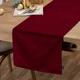 Ricardo Red Velours Table Linen Collection