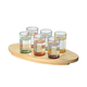Salut Shot Glass Set of 6 by Artland