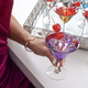 Set of 6 Stars Mini Martini Glasses by Artland