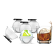Set of 4 Ice Ball Makers by Prepara