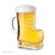 Ice Skate Beer Glass