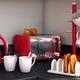 Swan Retro Red 4-Slice Toaster