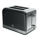Swan Retro Black 2-Slice Toaster
