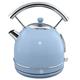Swan Retro Blue Dome Kettle 1.7 L