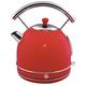 Swan Retro Red Dome Kettle 1.7 L