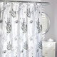 Terre Blue Shower Curtain