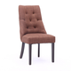 Victoria Tufted Dining Chair with Nailheads