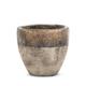 Bronze Stoneware Planter