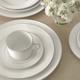 Vera Wang Blanc Sur Blanc 4-Piece Dinnerware Set