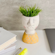 Kinfolk Cement Bust Plant Pot Collection
