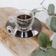 Bormioli Luigi Espresso Cup with Saucer by Trudeau