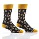 Beer Steins Men's Crew Socks by Yo Sox