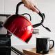 Cuisinart Red Metallic Stainless Steel Tea Kettle 2Qt