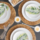 16-Piece Verde Coupe Dinnerware Set by LC Studio
