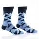 Snowmobiles Men's Crew Socks by Yo Sox