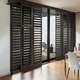 Custom NewStyle® Hybrid Shutters by Hunter Douglas