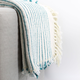 Martinique Cotton Throw with Fringe
