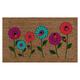 Flower Lady Bug Doormat