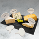 Fromage Set of 6 Ceramic Cheese Markers
