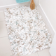 Space Dyed Paper Shag Bath Rug