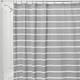 Thin Strip Shower Curtain